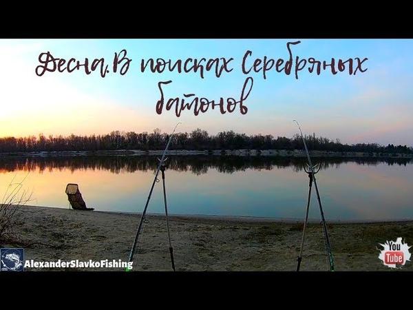Открытие фидерного сезона 2019.Десна.В поисках слитков Серебра(Плотва).