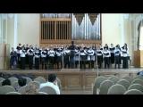 Кызылгуль Кудайбердиева. Комяков - обр. ногайской песни для хора а cappella