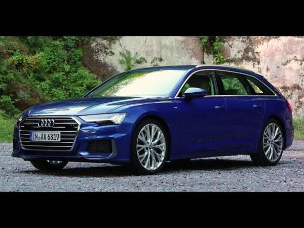2019 Audi A6 Avant SEPANG BLUE Drive, Exterior, Interior
