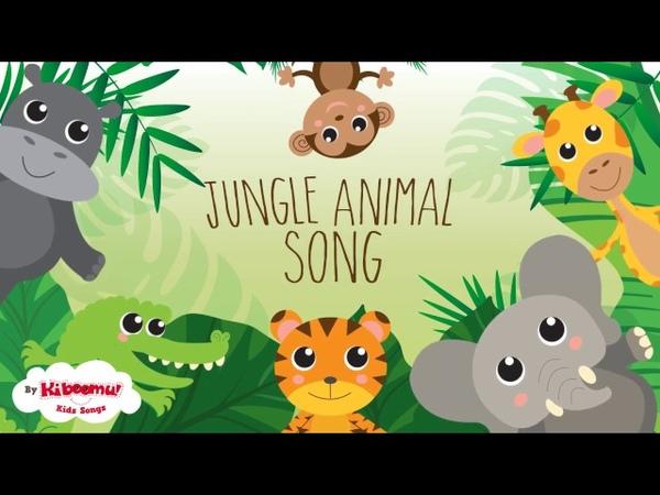 Jungle Animals Song | Kids Songs | Nursery Rhymes | The Kiboomers