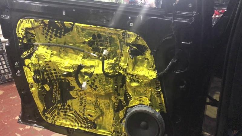 KIA Sportage современная, качественная и высокоэффективная шумо-и виброизоляция проведена за 9 часов