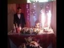 Свадебные торт Рената и Елены!  Красивые, нежные, милые, счастливые Ренат и Елена 💕💞 тамада_Алина ведущийуфа свадьба тамадау