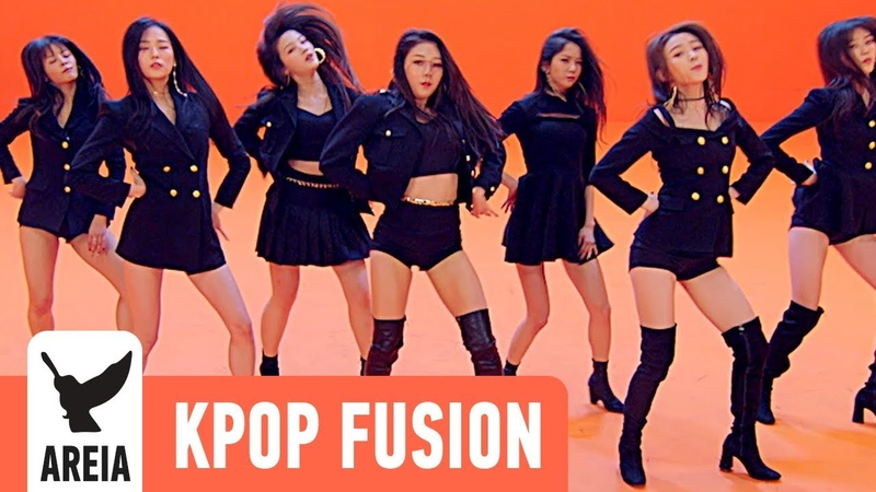 CLC (씨엘씨) - BLACK DRESS | Areia Kpop Fusion 36 REMIX