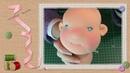Tutorial muñeca waldorf 5 14 Cara y orejas Waldorf doll tutorial Face and ears