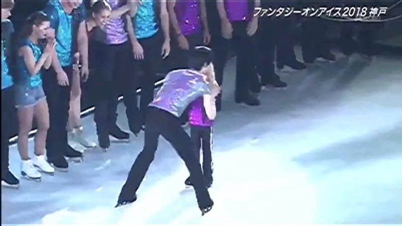 Yuzuru Hanyu, Alexandr Plushenko in FaOI Kobe