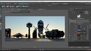 OctaneRender for Maya Lesson 3.1: Octane environment lighting using the Sun direction