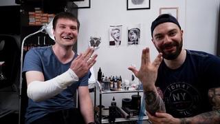 История одной татуировки. Пантера. Первый сеанс. / Tattoo story. Panther. First session.