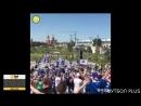 Фанаты Исландии хором поют