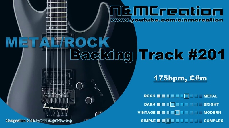 Wild Groove METAL Backing Track in Cm | BT-201
