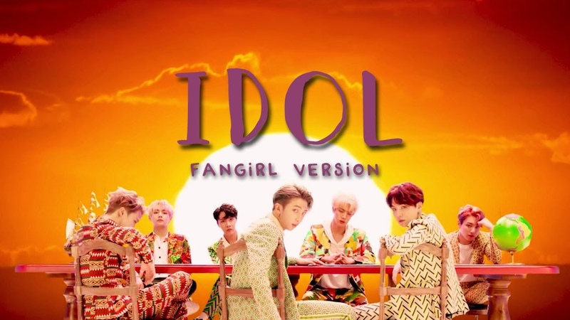 BTS Idol Fangirl Version