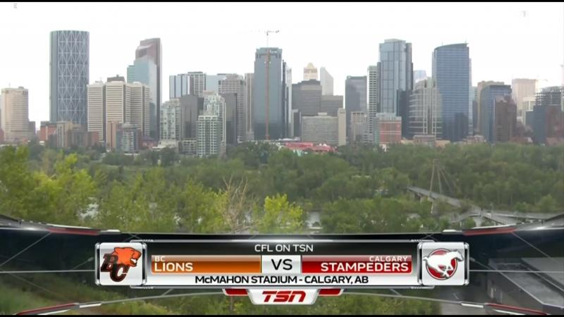CFL 2018 Week 08 BC Lions - Calgary Stampeders EN