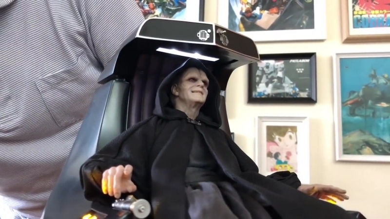 [ToysTv Eng] Hot Toys MMS468: Star Wars Episode VI Return of the Jedi - Emperor Palpatine (Deluxe Version) 1/6