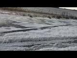Watch Rare hail storm hits Sardinia amid Europe's heatwave