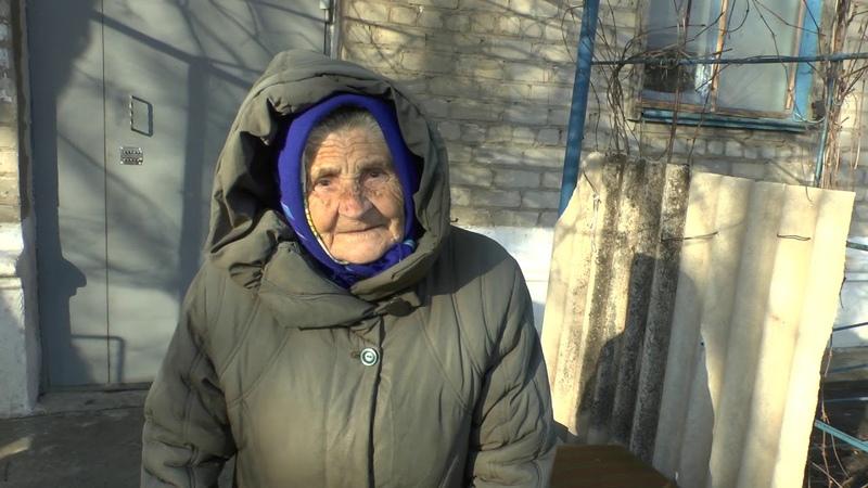 Помощь жителей Москвы бабушке инвалиду из Ясного