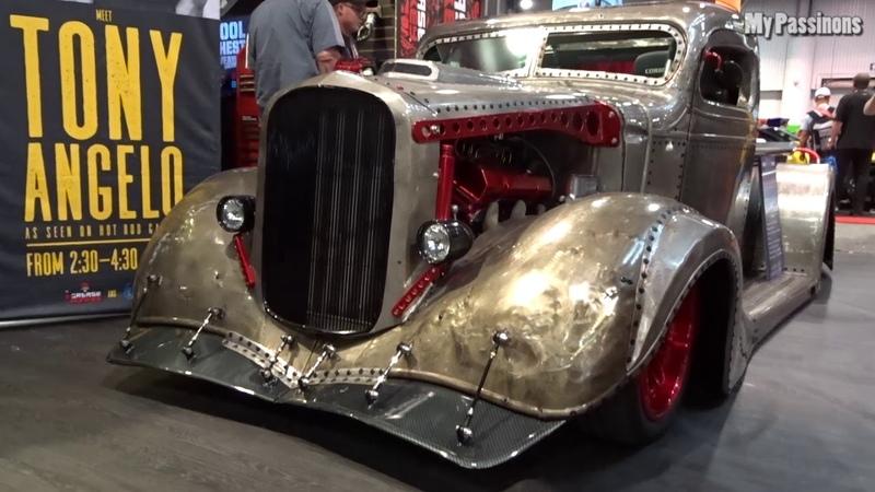 Muscle Car Hot Rod's Rad Rod's Street Rod's Truck Rod's SEMA 2018 Las Vegas