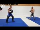 Каратист против качков-боксёров