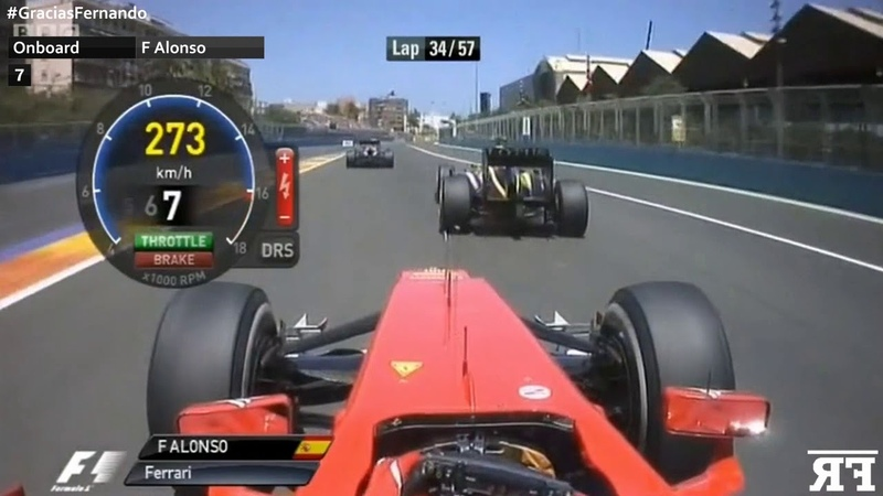 F1 Onboard | F1 Fernando Alonso's Top 15 Overtakes
