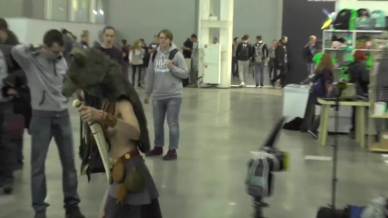 Игромир и Comic Con 2018 - Полный обзор ПК периферия зал 4. Девушки, Corsair, RoG, Intel, Aorus...