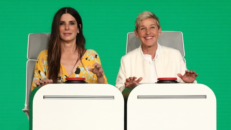 Sandra Bullock Answers Ellens Burning Questions