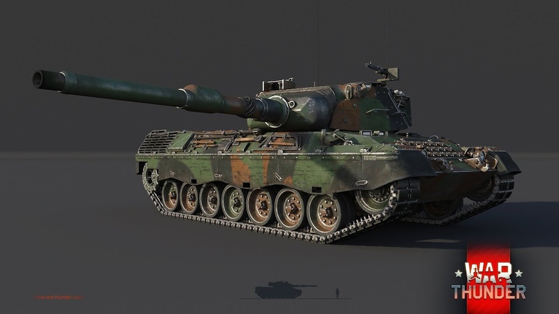 Фланговый обход на Leopard A1A1 L/44 - карта Вьетнам