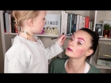 Real Techniques on Instagram @pixiwoo's daughter totally inspiring us to break ALL the makeup rules today.  #MothersDay #SetY