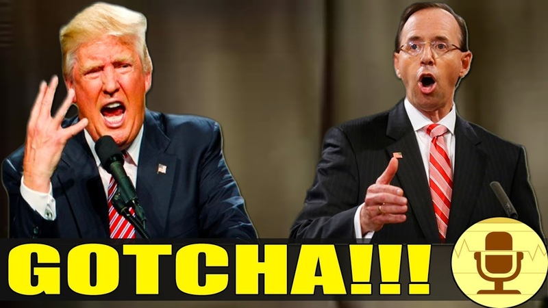 BUSTED Rosenstein GOT CAUGHT RED-HANDED PULLING THE NEXT CORRUPT MOVE To TAKEDOWN Trump! WOAH