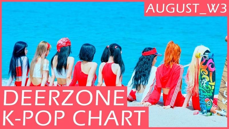 DEERZONE K-POP CHART | AUGUST 2018 | WEEK 3