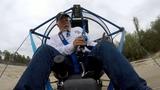 Powered parachute crash... I'm OK !