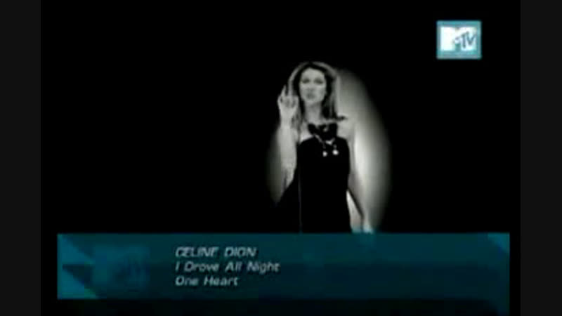 Celine dion i drove all night mtv asia