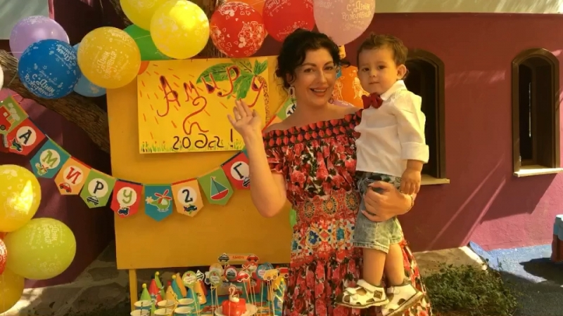 Амир, 2 годика!