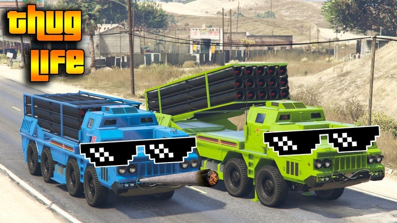 GTA 5 ONLINE : THUG LIFE AND FUNNY MOMENTS (WINS, STUNTS AND FAILS 12)