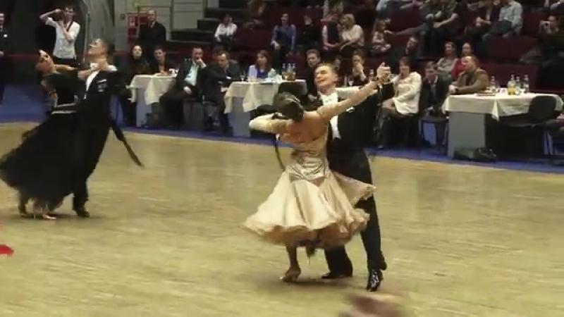 Новиков Иван - Барбачева Анна, 1-2, Медл. вальс