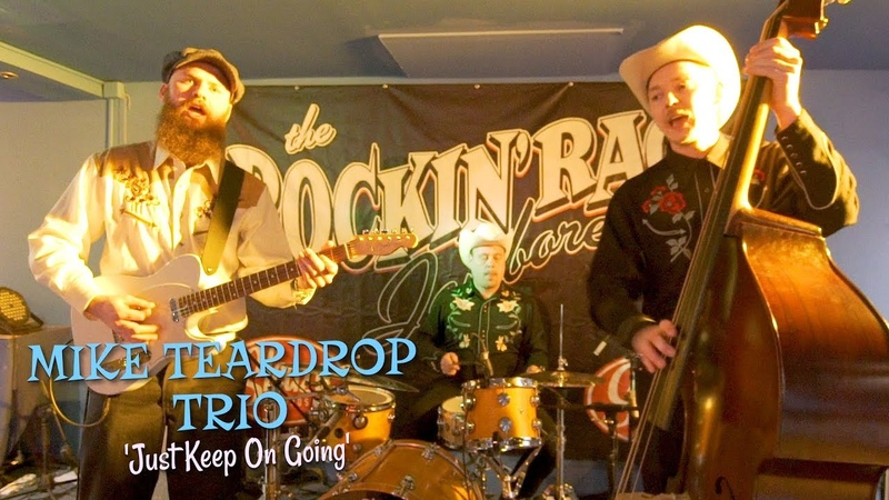 'Just Keep On Going' MIKE TEARDROP TRIO (Rockin' Race Jamboree) BOPFLIX sessions
