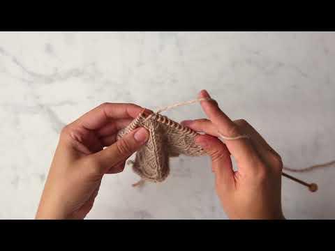 Knit 1 Under Loose Strand (k1 uls) Tutorial   Purl Soho