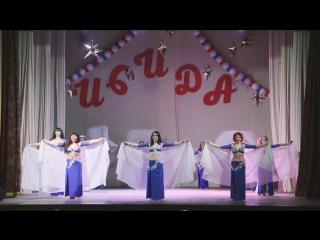 межансе Айда с барабанами, школа восточного танца ИСИДА