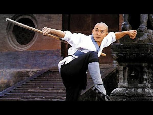 Джет Ли тренировка кунг фу Jet Li train kung fu