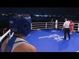 Ангелина Кабакова, бой 1/8 первенства мира-2018