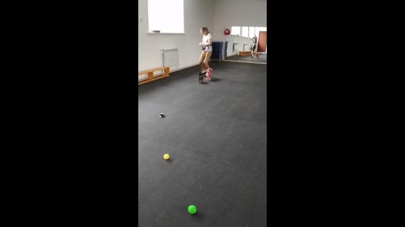 Первая тренировка Няши mp4