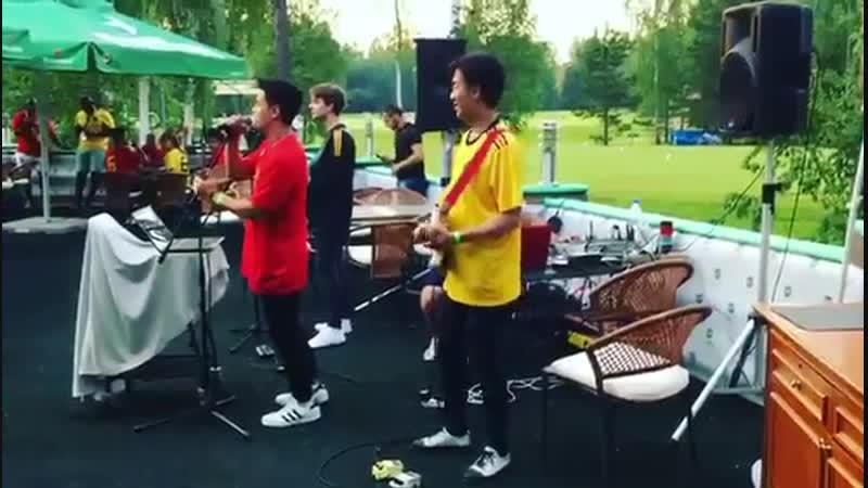 Приветствуем Бельгийскую сборную команду по футболу!!