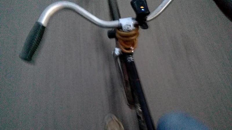 Резонанс на велосипеде ЗИФ 1-В