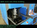 Peanut butter bottlecans blow molding machine
