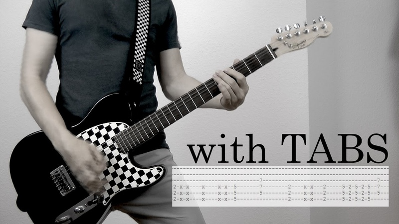 Skillet - The Resistance Guitar Cover w/Tabs on screen