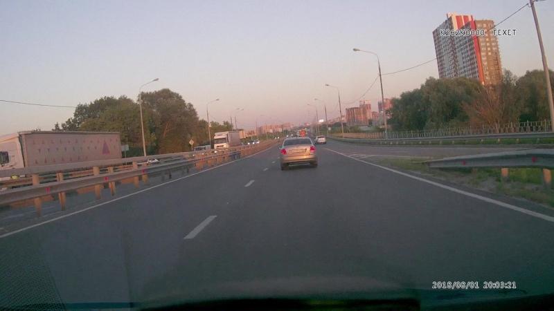 Чудо маршрутчик в Рязани. Грубейшее нарушение ПДД.