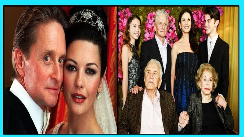 Знаменитые Майкл Дуглас и Кэтрин-Зета Джонс 18 лет Вместе! и Вся Звездная Актерская Династия ДУГЛАС