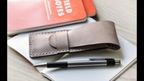 Making a Leather Pen Case