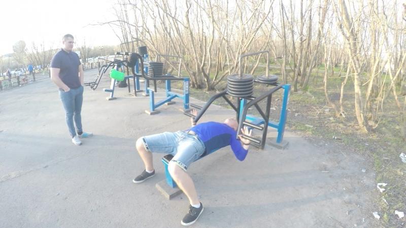 Дмитрий Комлев Жим Лежа 120 кг