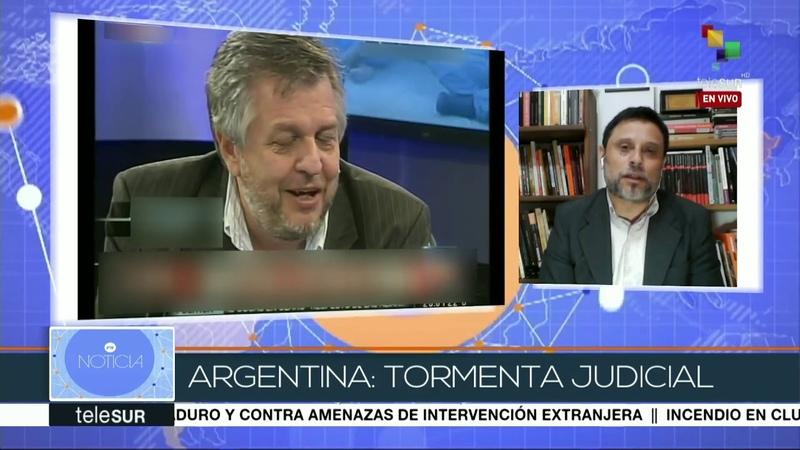 Bernardo Un grupo mafioso se ha apoderado del poder judicial argentino