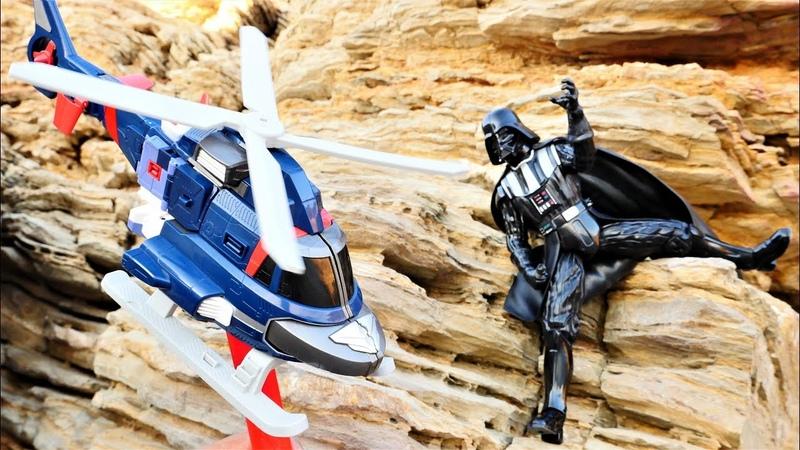 Tobot Darth Vader'in tarafından kaçırılmış. Nail baba ile oyun