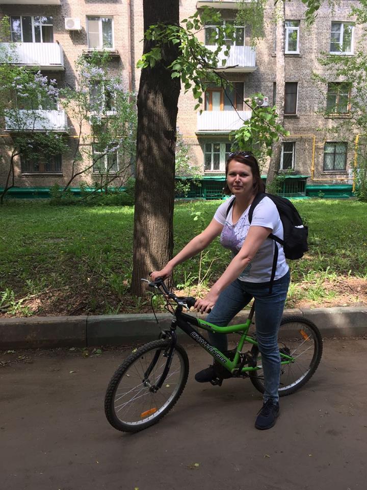 Сотрудники ТЦСО «Ховрино» отправились на работу на велосипедах