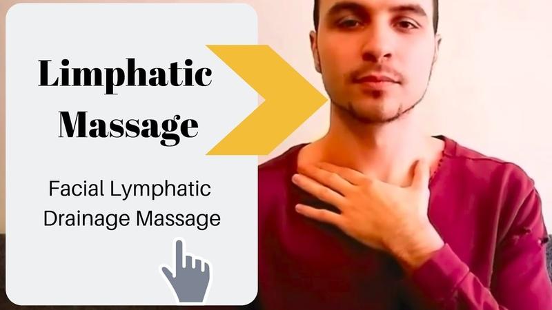 Facial Lymphatic Drainage Massage Tutorial Automassage Antiage Detox | Лимфатический Самомассаж Лица